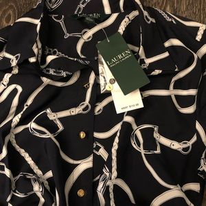 NWT RALPH LAUREN Equestrian Themed Dress